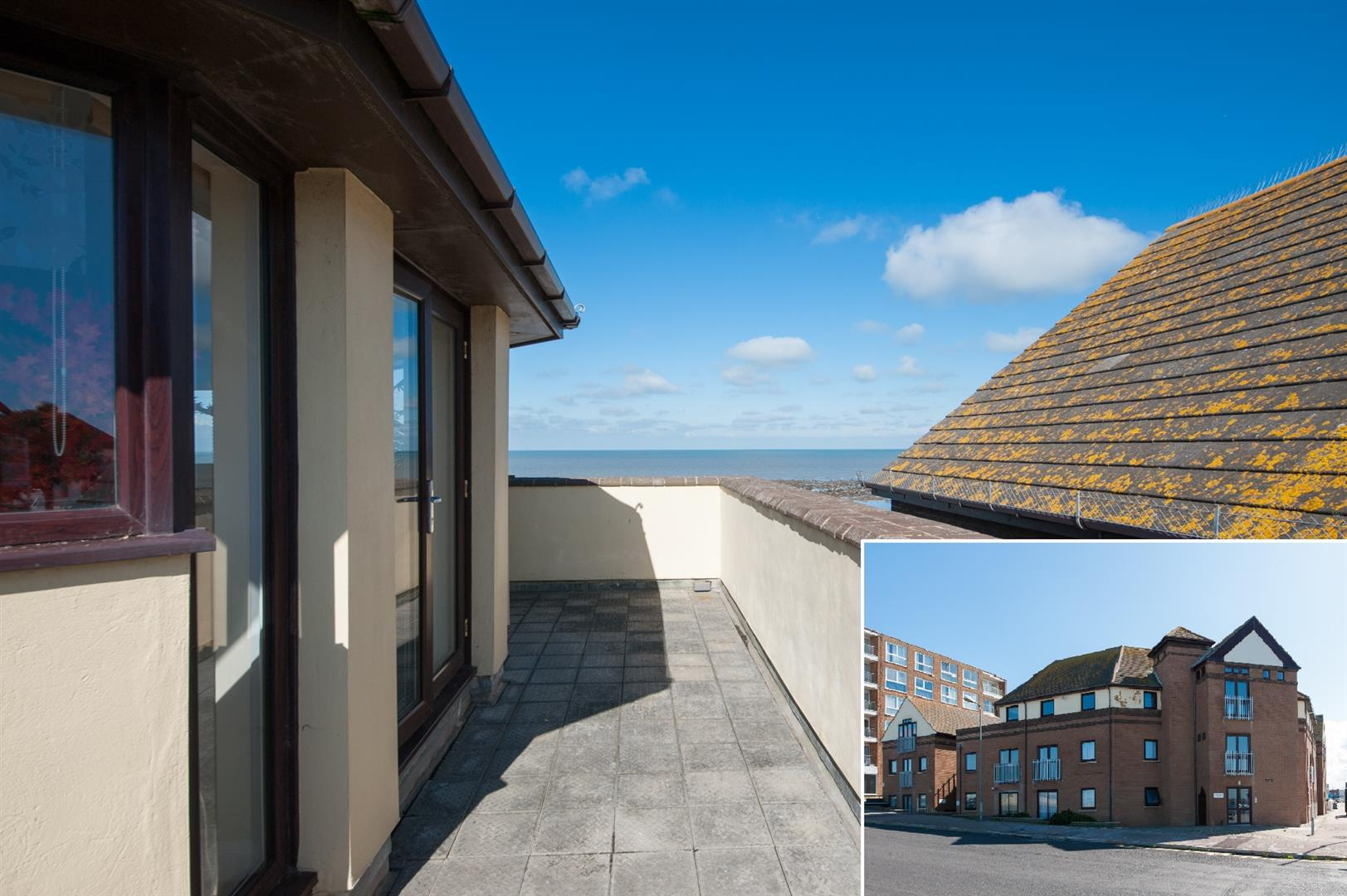 3 Bedrooms Penthouse Flat for sale in The Parade, Birchington